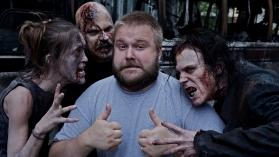 The Walking Dead: Kirkman on Set