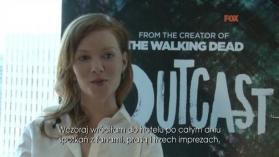 Outcast na Comic-Con: Wywiady z aktorami serialu